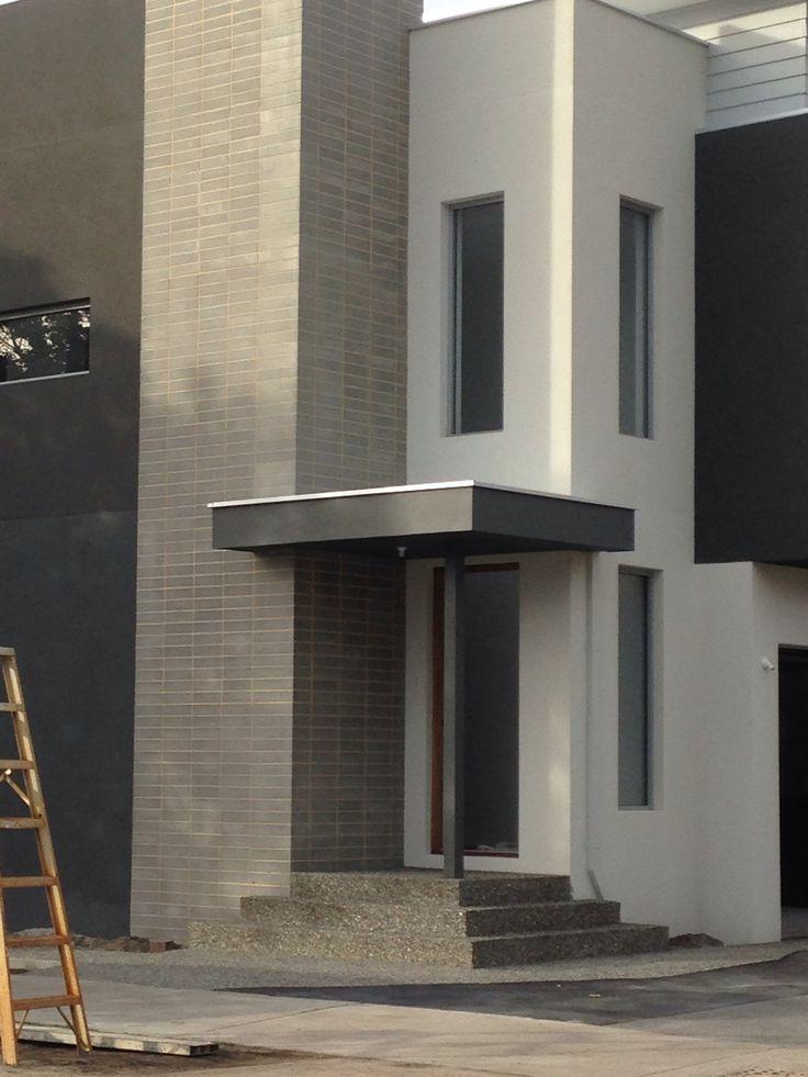 House in leederville besser block front feature feature for Besser block home designs