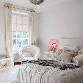 Tonal grey bedroom
