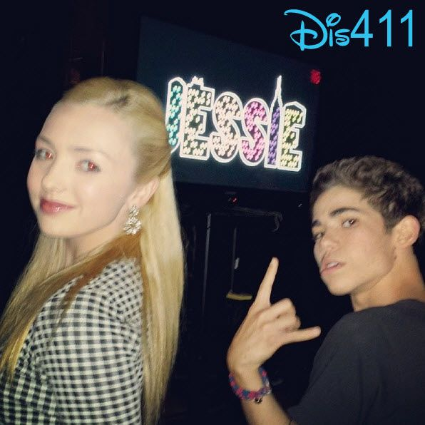 Peyton List and Cameron Boyce
