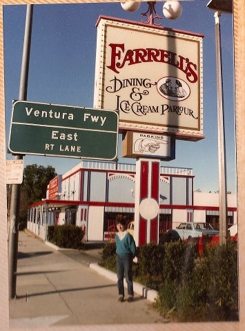 Farrell's Ice Cream Parlour in Woodland Hills. Remember when you got a ribbon for eating the entire Pig Trough?