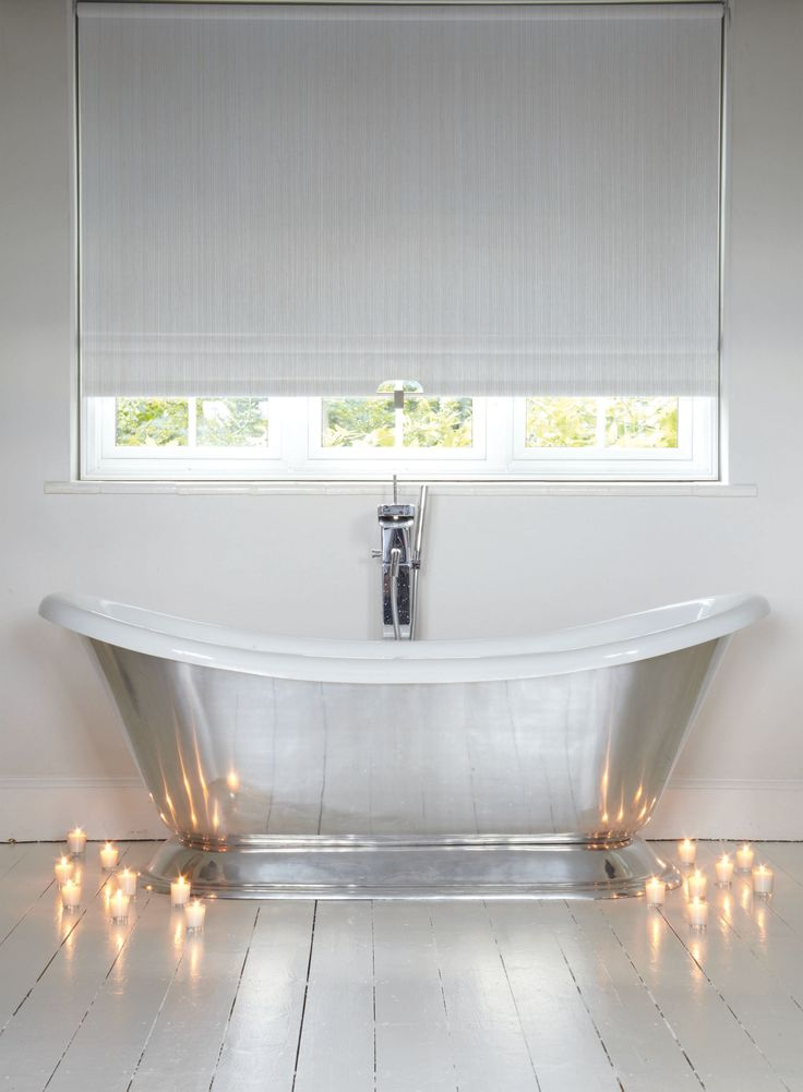 Off white patterned waterproof bathroom roller blind. Best 25  Blinds for bathrooms ideas on Pinterest   Shades for