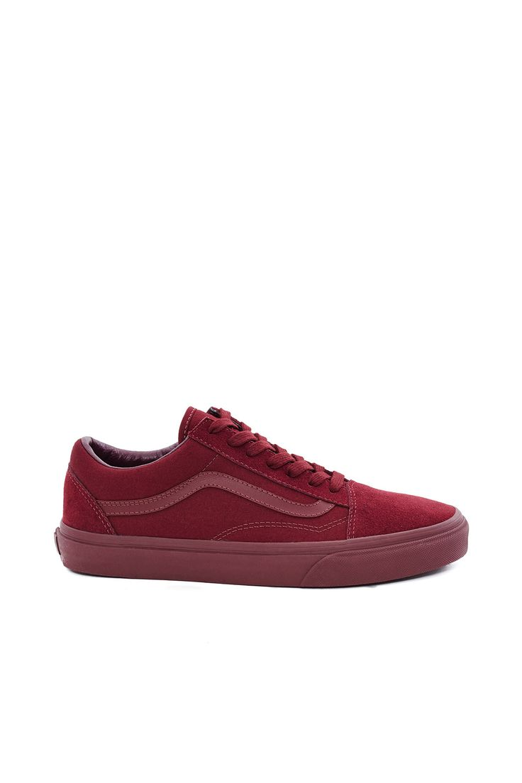 Vans, Old Skool Sneakers Enjoy free ground shipping on all full price Vans, Vans Vault, and Vans for OC products with promo code FREESHIP. Sale items do not apply., Unisex, US men's sizing, Logo side stripes, Lace-up front, Padded collar, Canvas and suede upper, Canvas lining, Original waffle rubber outsole, Imported