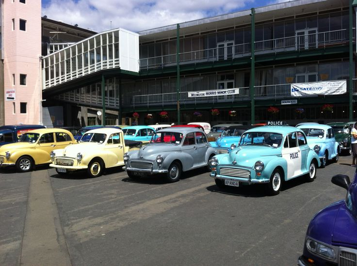 Morris 1000s at Trentham Race Course