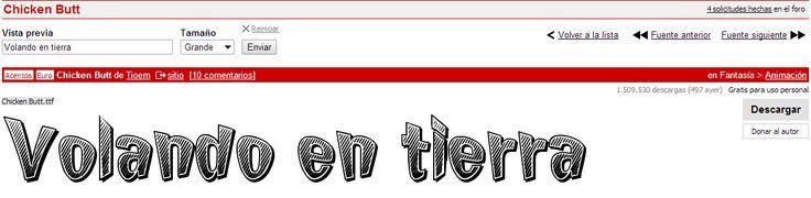 Posible tipografía 1