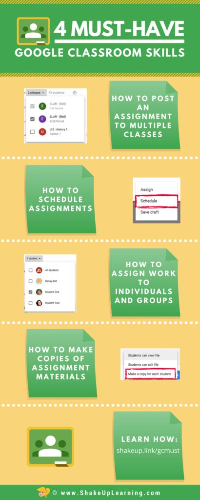 4 Must-Have Google Classroom Skills for Teachers