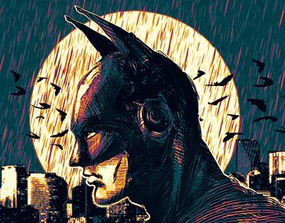 """Check out new work on my @Behance portfolio: """"Rainy Gotham"""" http://be.net/gallery/51424809/Rainy-Gotham"""