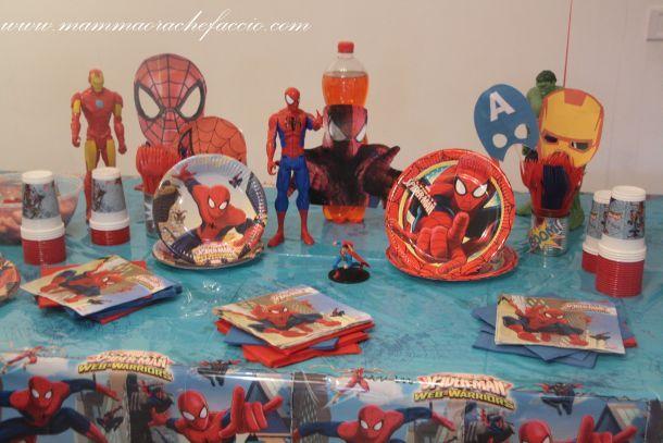 Festa a tema Spiderman...Spiderman birthday party!