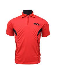 STAG BASIC TRAINING BADMINTON T- SHIRT RED/BLACK, Rs.470/- At www.damroobox.com