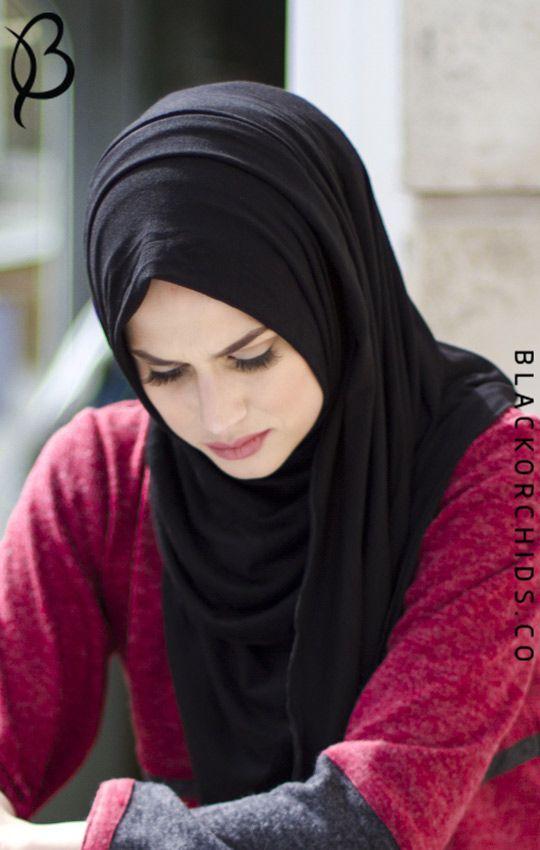 Hijab Fashion Black