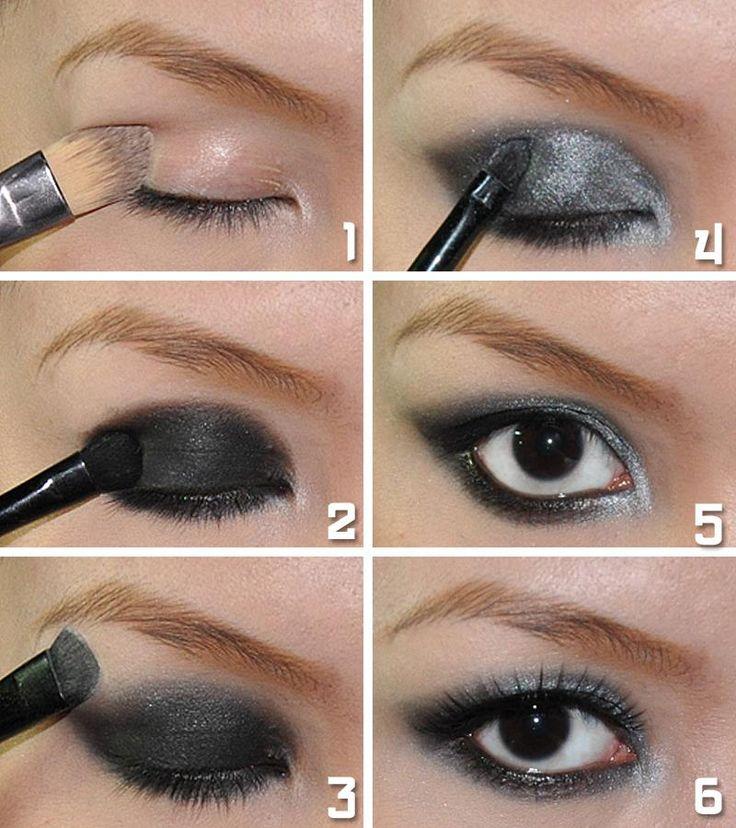 Tips for Applying Smokey Eyeshadow Beginners eye makeup