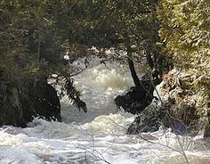 Waterfall county of Wisconsin - Waterfall Tour in Marinette County, WI