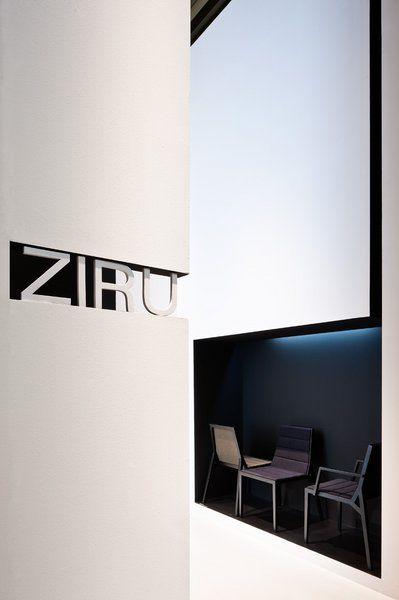 ●Ziru, stand at Salone Internazionale del mobile, Milan (2012) _ by Spanish architect Francesc Rifé (photo © Fernando Alda)_