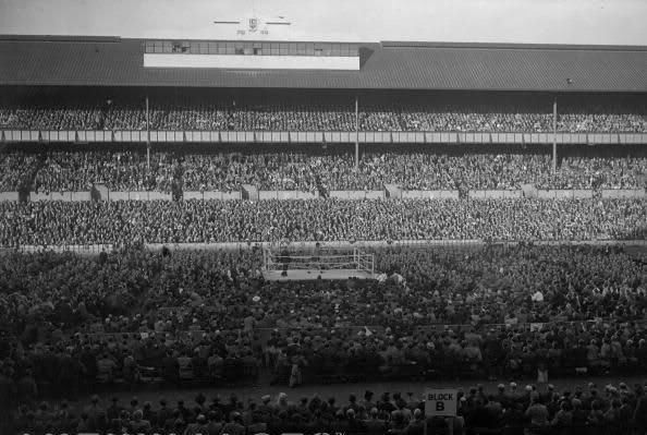 Boxing at White Hart Lane #TottenhamHotspur #COYS