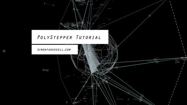 PolyStepper Tutorial for Cinema 4D by Simon Russell. This is tutorial for an Xpresso based tool I created for Cinema 4D called PolyStepper.