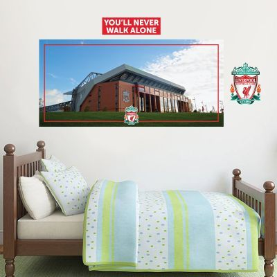 Liverpool Football Stadium Mural Wall Sticker Set Wall Stickers - Bedroom furniture in liverpool