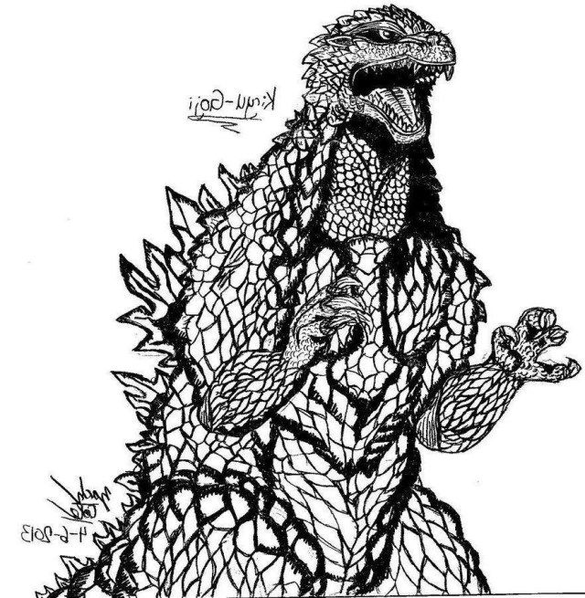 30 Wonderful Photo Of Godzilla Coloring Pages Albanysinsanity Com Coloring Pages Godzilla Coloring Pages For Kids