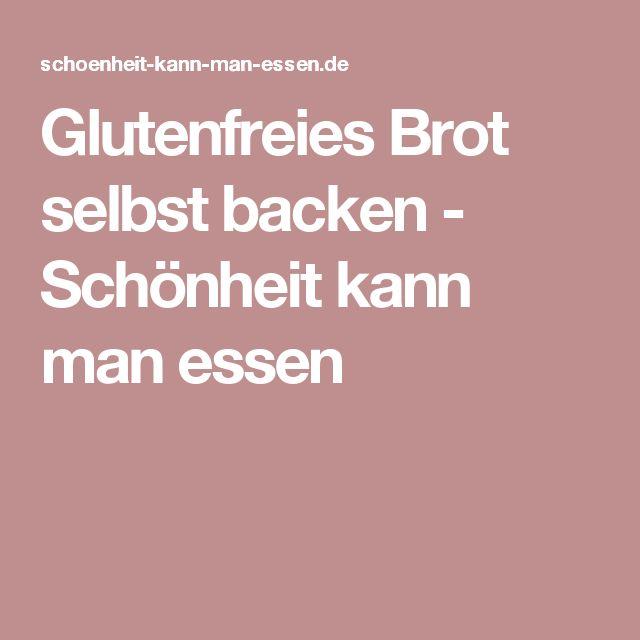 1000 ideas about glutenfrei brot selber backen on pinterest veganes brot glutenfreies brot. Black Bedroom Furniture Sets. Home Design Ideas
