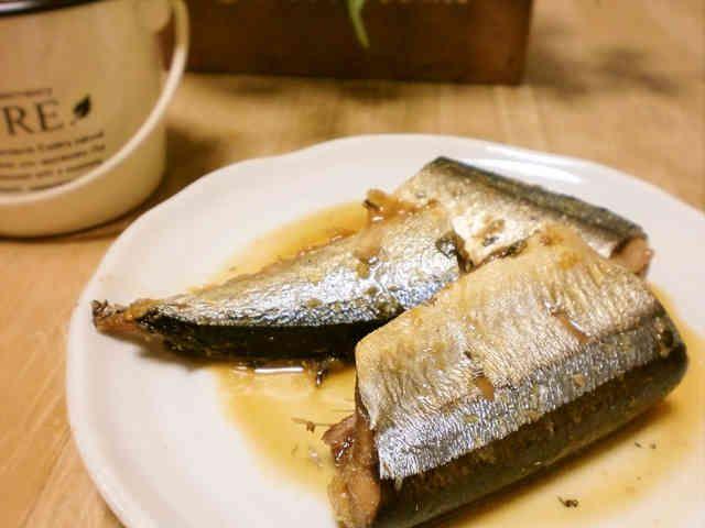 ぱぱっと!さんまの生姜煮の画像