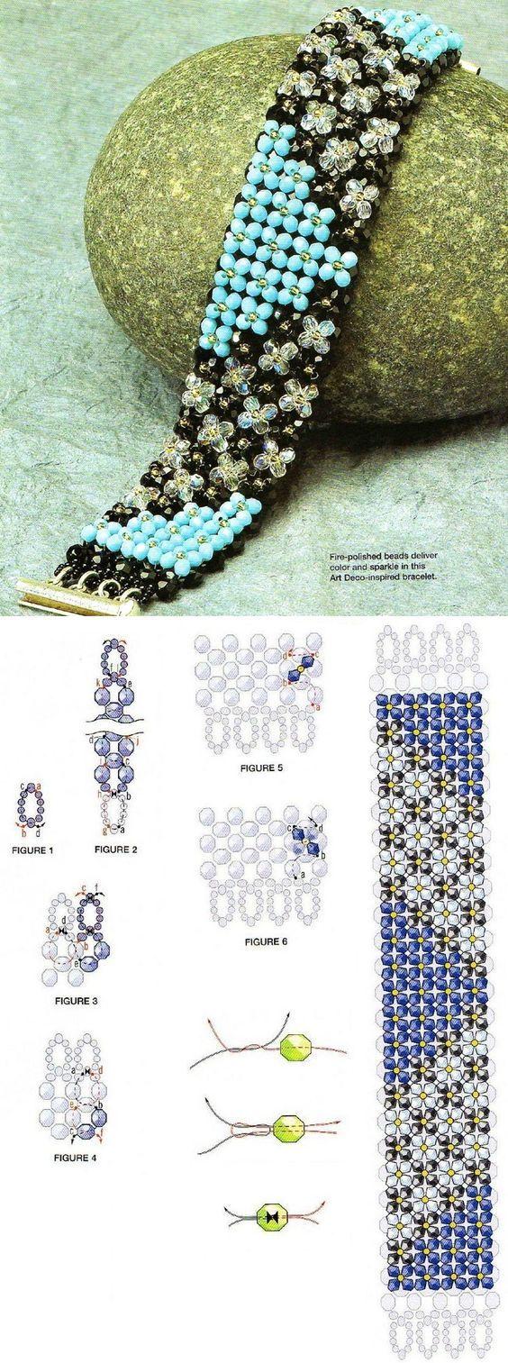 Beaded Bracelet pattern: