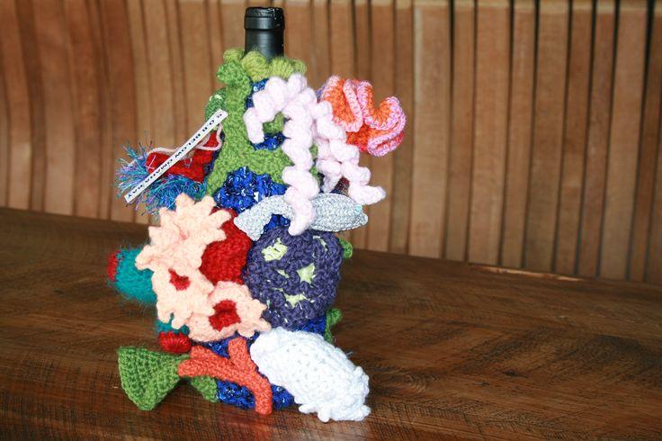Beneath Omaha Bay. Winner of crochet section. Front view