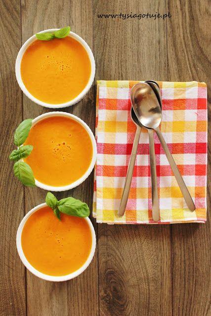 Kremowa zupa pomidorowa z mascarpone   Tysia Gotuje