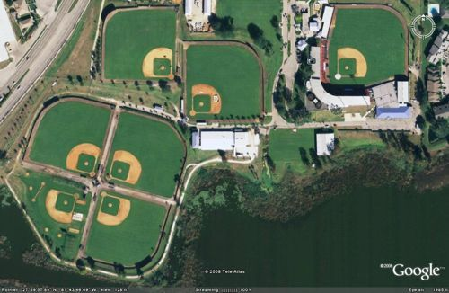 Chain of Lakes Baseball Complex, Formerly Boston Red Sox & Cleveland Indians Training Site, Winter Haven, FL