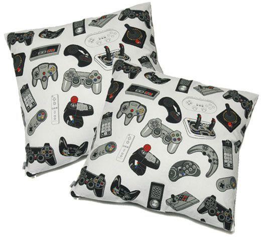 Video Game Controller Pillows