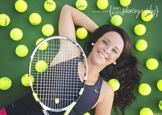 Tennis Senior Picture