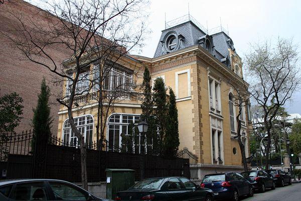 Palacio Del Marqués De La Hinojosa Edificios Antiguos Madrid Ciudad Palacios