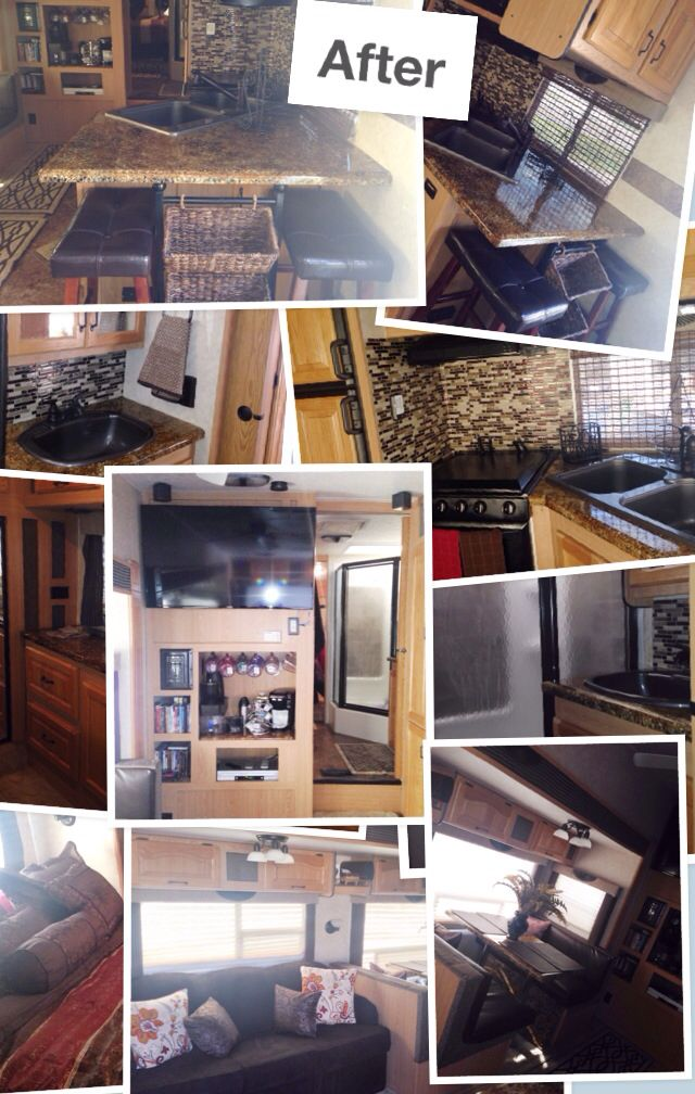 141 Best 5th Wheel Decor Remodel Images On Pinterest