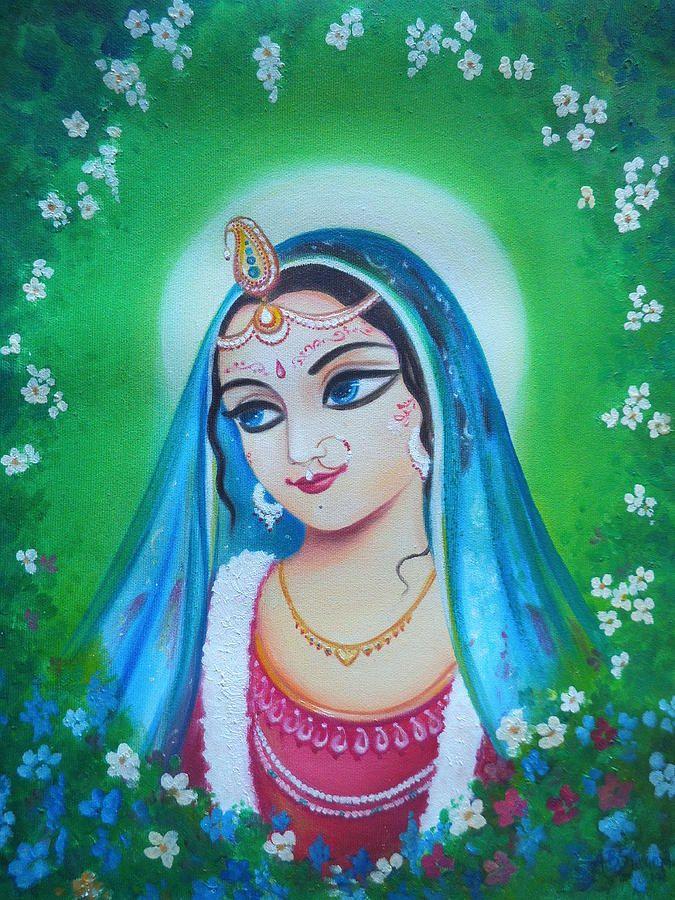 Radharani - The Indian Goddess Of Love in 2019 | bhakti - a
