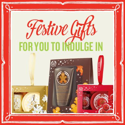 Perfectly gifted products just in time for Christmas #thebodyshop
