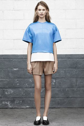 Think inside the box for fall & spring. T by Alexander Wang