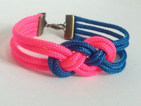 Check out this item in my Etsy shop!  https://www.etsy.com/listing/267730695/knot-rope-bracelet-two-colors