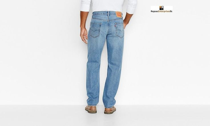 Levis 550 mens jeans relaxed fit 38x34