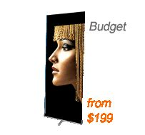 retractable banner stands collections