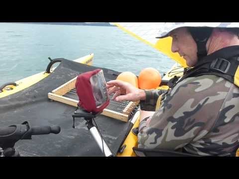 This Hobie Tandem Island is rigged with Railblaza Kayak Accessories. How sweet is this?