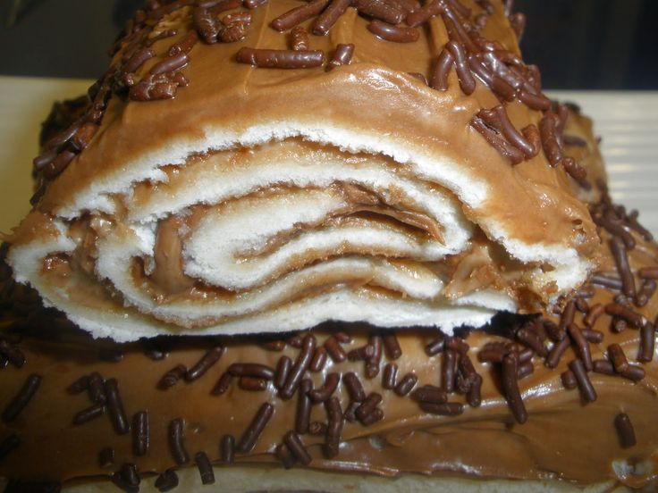 .: Enrollados de nocilla con pan de molde
