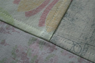 Pojagi - Korean patchwork with finished seams