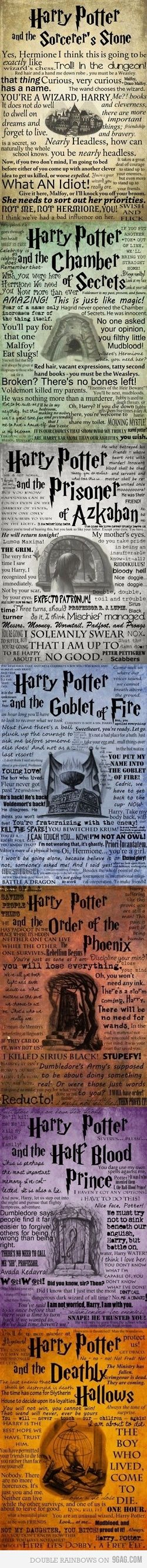 Harry Potter love!
