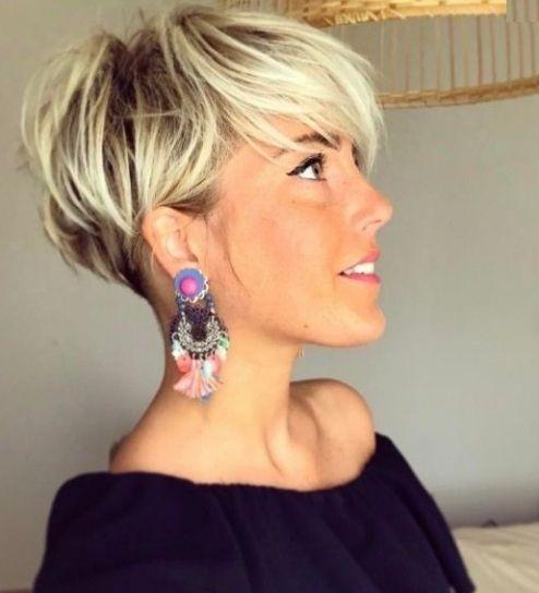 Frisuren 2018 Frauen Kurz überall Frisuren Damen Kurz Hinterkopf