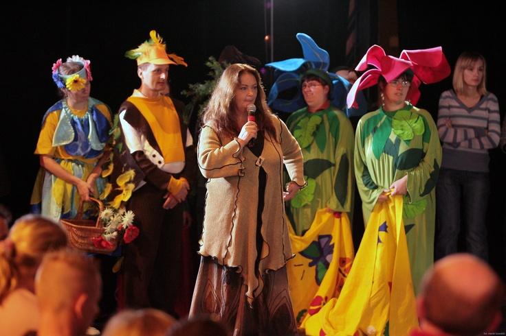 Zespół Radwanek na scenie  #teatr #niepełnosprawność