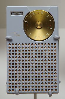 First portable mini transistor radio