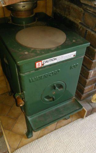 Waterford-Cast-Iron-Green-Leprechaun-Woodburning-Stove-Scarce-Model-L-K