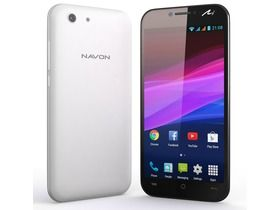 NAVON Mizu M505 LTE kártyafüggetlen okostelefon, fehér (Android)