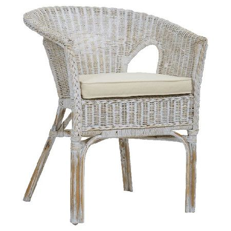 Daisy Rattan Arm Chair at Joss and Main