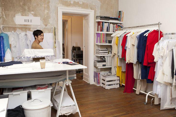 .: Le Studios, Studios Spaces, Studios Offices, Fashion Studios, Garment Racks, Apartment