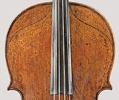 Bass Viola da Gamba, Antonio Stradivari Workshop, Cremona, ca. 1730 Converted into a Violoncello by Jos. Wagner, 1831