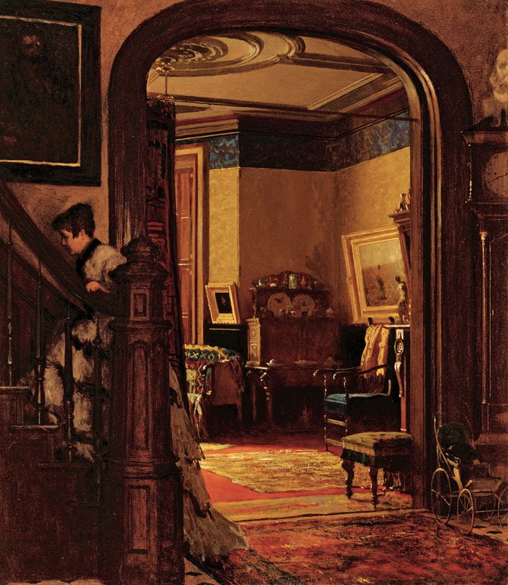Not At Home By Eastman Johnson Ca 1873 Great Interior Victorian House InteriorsVictorian HomesVictorian EraVictorian