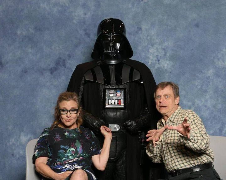 Family Picture Day! Skywalker family!